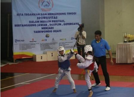 Kejuaraan Nasional Taekwondo Tingkat Pelajar Diselenggarakan di UII