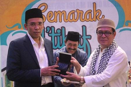 Usai Shalat Tarawih, Sivitas Akademika UII Diskusi Bersama Gubernur NTB