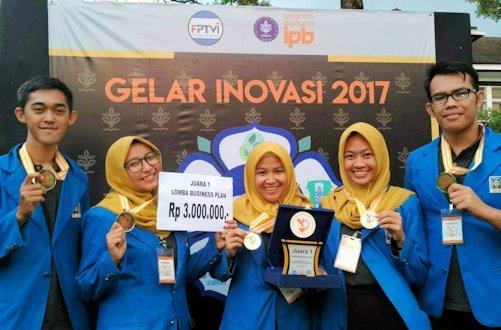 Sereal Susu Biji Mangga Hantarkan UII Juara 1 Olinamasi 2017