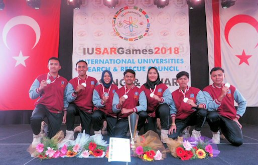 UII Team Won International Search and Rescue Competition