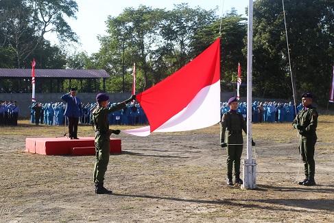 Gelar Upacara Bendera, UII Peringati HUT RI ke-73