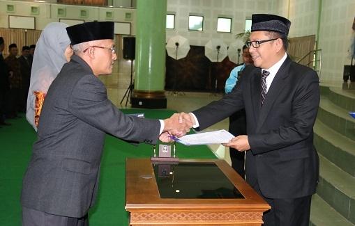 Ketua dan Sekretaris Program Studi UII Periode 2018-2022 Dilantik