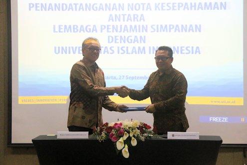 UII Jalin Kerjasama dengan Lembaga Penjamin Simpanan
