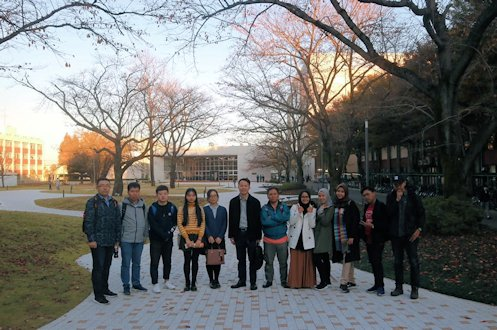 Prodi Teknik Lingkungan UII Kembali Raih Grant di Jepang