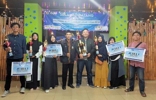UII Raih Juara Umum di Festival Kebudayaan Arab UGM