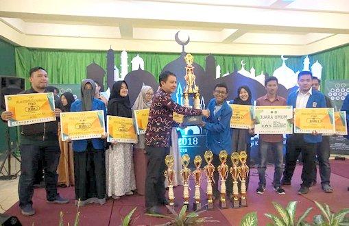 UII Raih Juara Umum PKM PTKIS 2018