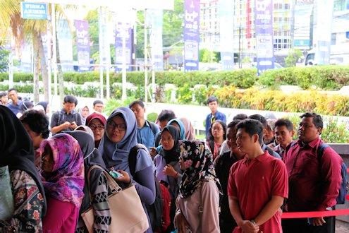 Integrated Career Days (ICD) UII 2018 Ramai Peminat