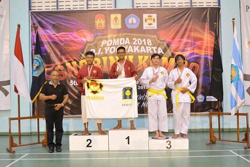 UKM Kempo Raih 2 Emas pada POMDA 2018