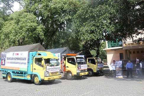UII Kirim Bantuan Untuk Korban Tsunami Banten-Lampung