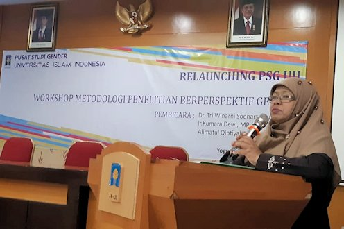 Pusat Studi Gender UII Kembali Diluncurkan