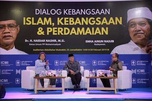 Melantangkan Pesan Perdamaian Melalui Dialog Kebangsaan