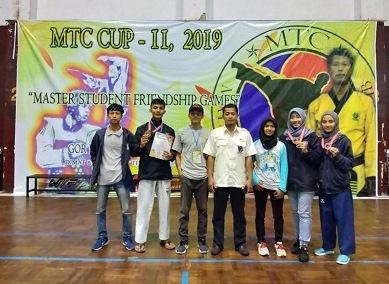 Taekwondo UII Raih Sembilan Medali di Kejuaran MTC Cup 11