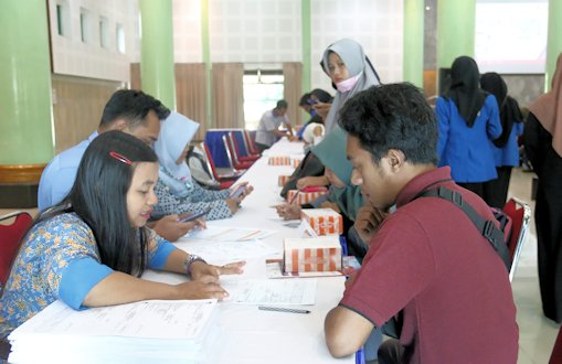 Mahasiswa UII Antusias Ikuti Sosialisasi Pemilu 2019
