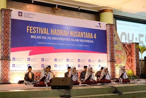 Festival Hadrah Semarakkan Milad Ke-76 UII