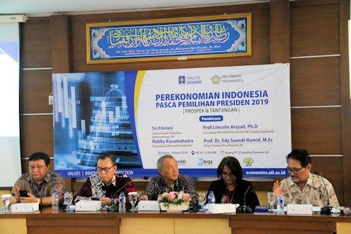 Menatap Tantangan Perekonomian Indonesia Pasca Pemilu 2019
