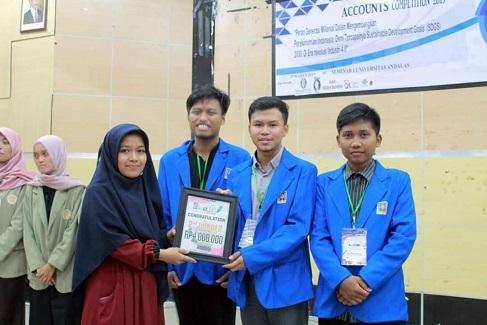 Mahasiswa UII Raih Juara Pada Accounting Week 2019 di Padang
