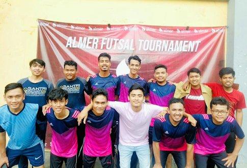 Pondok Pesantren UII Raih Juara II Almer Futsal Tournament