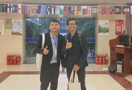 Mahasiswa UII Paparkan Karya Inovasi di China