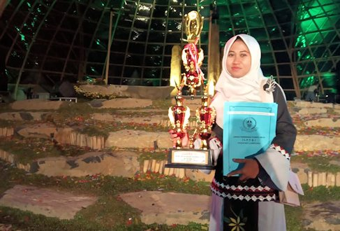 Mahasiswi UII Raih Prestasi Pada MTQ Provinsi Lampung