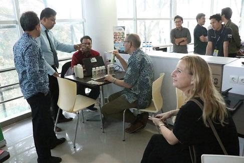 Tim Erasmus+ Evaluasi Pelaksanaan Program di UII