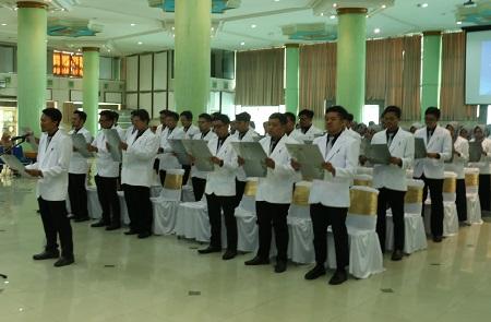 Dokter Muda UII Jalani Pendidikan Klinis