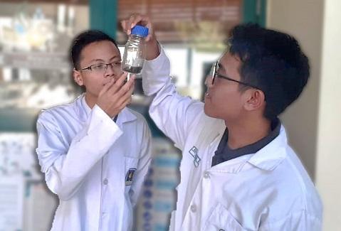 BIO-CHIPS, Material Kekinian Untuk Limbah Batik Metilen Biru