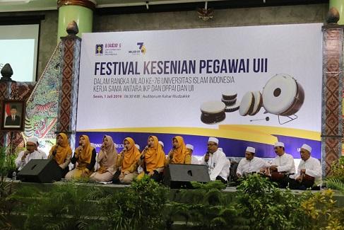 Festival Kesenian, Ajang Kreativitas Pegawai UII