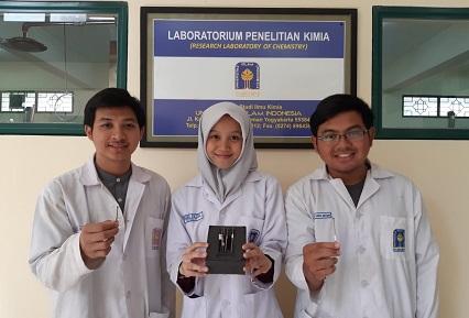 Inovasi Perangkat Sensor Formalin dari Limbah Baterai