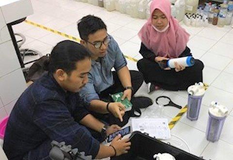Pengolah Air Minum Darurat Karya Mahasiswa UII