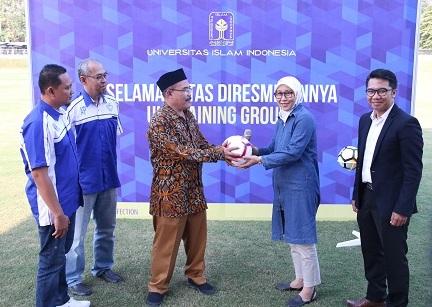 UII Training Ground Resmi Dibuka