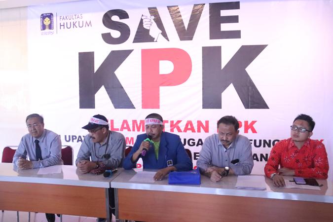 Tolak Revisi UU KPK, Sivitas Akademika Siap Kirim Mosi Tidak Percaya