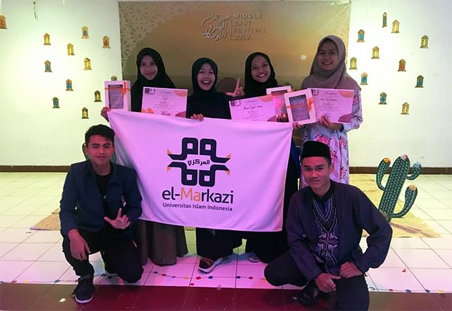Mahasiswa UII Borong Prestasi pada Middle East Festival di Jakarta