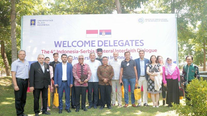 UII Fasilitasi Dialog Toleransi Beragama dengan Serbia