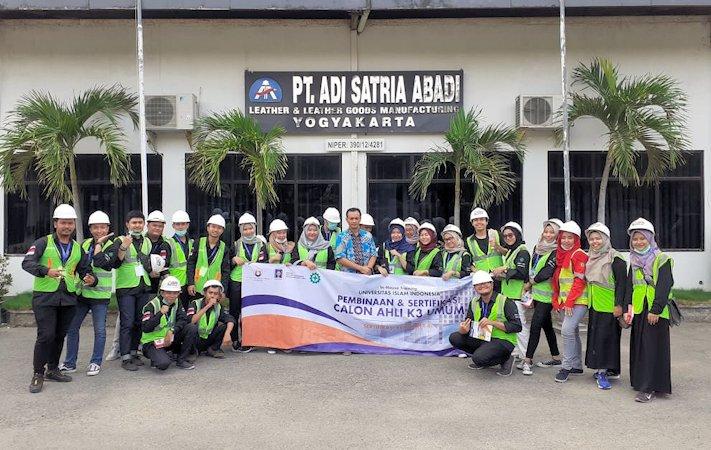 LSP UII Dorong Alumni Miliki Sertifikasi K3