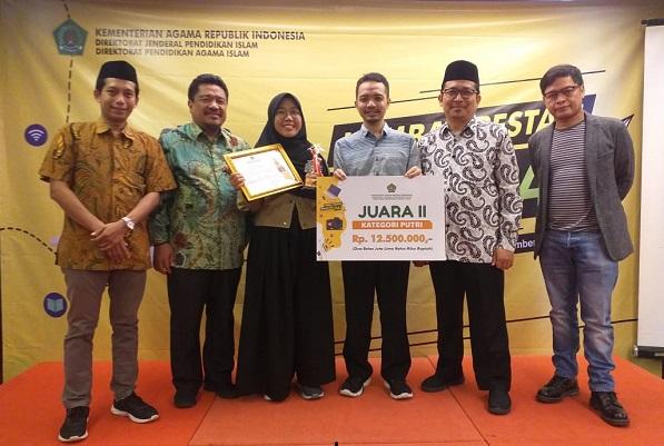 Raih Juara 2 Nasional Lomba Prestasi Mahasiswa