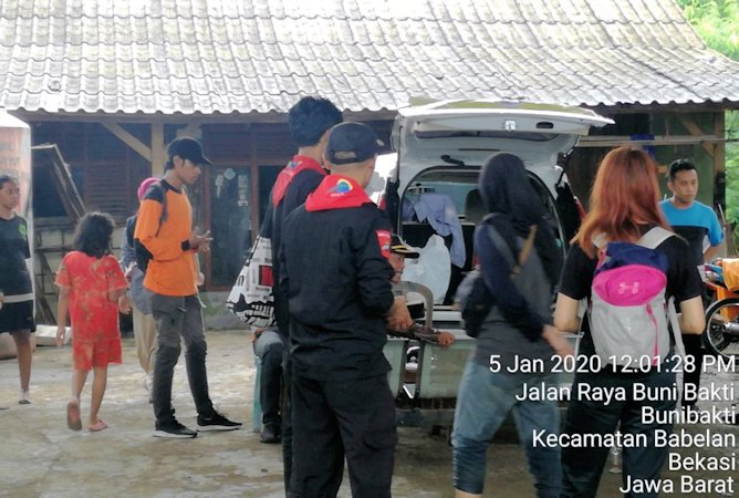 Peduli Banjir, IKA UII Terjunkan Tim Respon Bencana