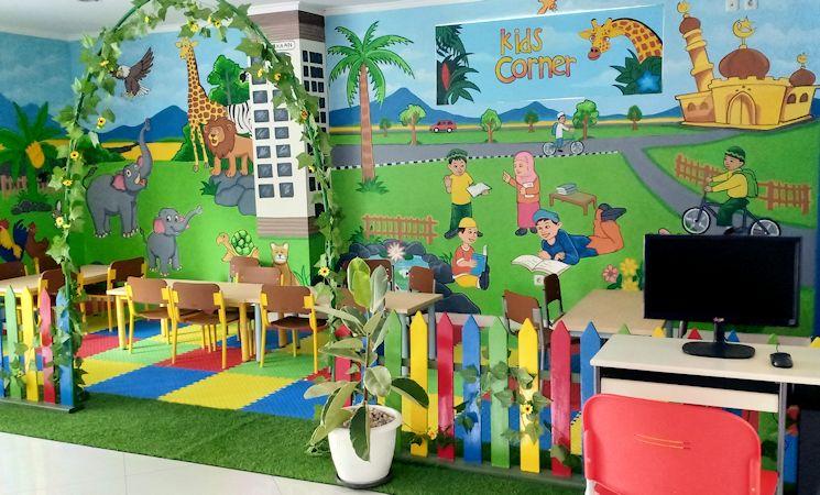 Ramah Anak, Perpustakaan UII Tambah Fasilitas Kids Corner