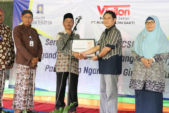 FK UII Respon Kesulitan Air Bersih di Ngandong