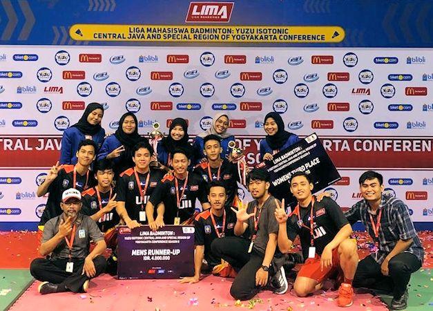 UKM Badminton UII Sabet Prestasi di LIMA