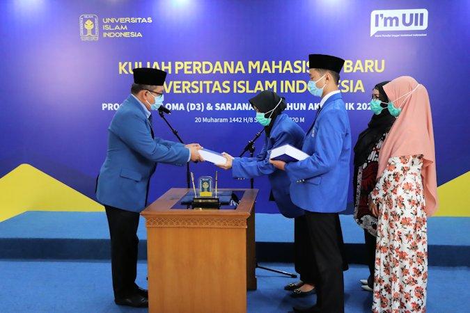 UII Sambut Mahasiswa Baru dengan Kuliah Perdana Daring