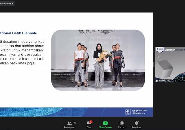 Mahasiswi UII Giat Lestarikan Usaha Batik Sembari Kuliah